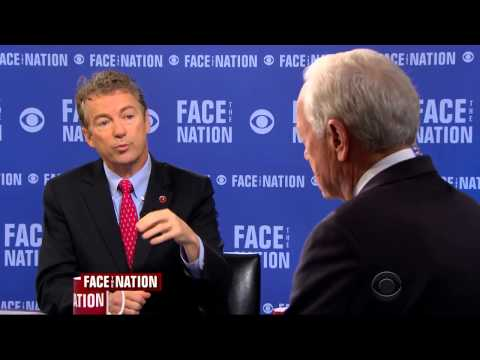 Sen. Rand Paul Appears on CBS's Face the Nation