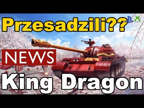 News!! King Dragon Type 59 przesadzili ??? World of Tanks Xbox One/Ps4