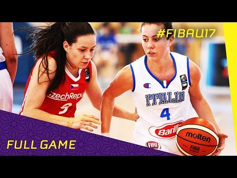 Italy v Czech Republic - Full Game - FIBA U17 Women's World Championships 2016