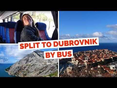 Split to Dubrovnik by Bus | Croatia Travel Vlog