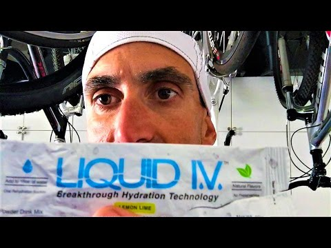LIQUID I.V. Electrolyte Hydration review by Ben Morris