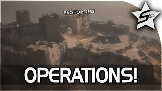 Battlefield 1 What is OPERATIONS? - Operations Explained & Oil of Empires Gameplay Part 1
