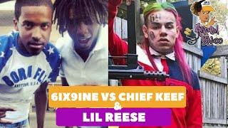 6ix9ine s'attaque à Chief Keef et Lil Reese salement et leur manque de respect