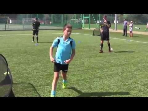 CZ9-Letni Turniej Forza Cup Junior F-U9-Wrocław 29.08.15-Gutek 1vs1 i Oski Bitwa Bramkarska