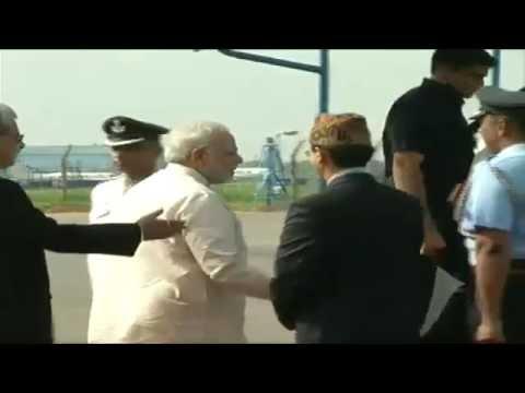 PM Narendra Modi departs for Nepal