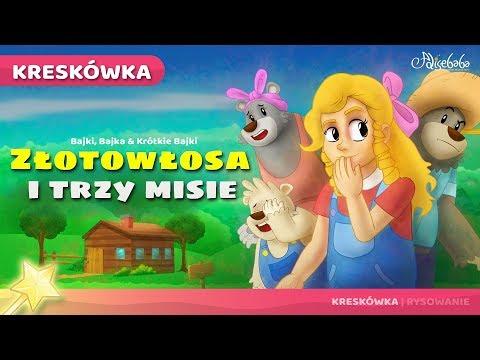 Złotowłosa I Trzy Misie | Bajka Dla Dzieci Po Polsku