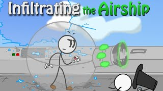 BUSTING IN WITH LAZERS | Infiltrating The Airship