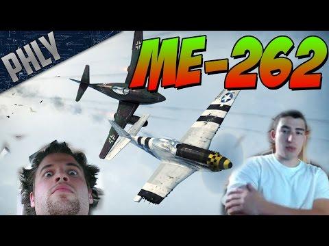 War Thunder- Me-262 Jet Arcade Gameplay - The Best Pilots In Da World W/Slickbee!