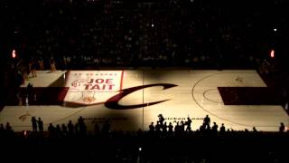 Cleveland Cavaliers PreGame 3D Court Projection