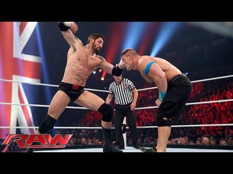 John Cena Vs. Bad News Barrett – United States Championship Match: Raw, April 13, 2015 video