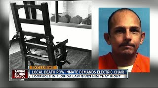 First death row inmate requests electric chair