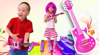 Musical Instruments Sounds for Kids – Electric Guitar | MusicMakers - From Baby Teacher
