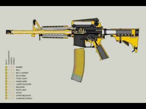 How the M-16 works and what it can do.