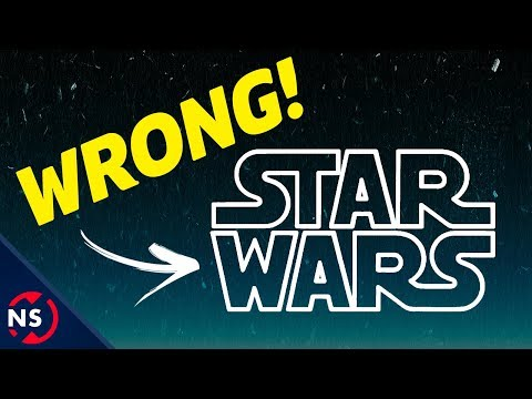 This Is NOT The STAR WARS Logo! (Origin & History Of The Star Wars Title) || NerdSync