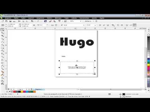 Curso de CorelDraw X6 - Aula 11 - Ferramenta Texto