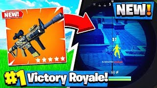 *NEW* Fortnite THERMAL-SCOPED AR GAMEPLAY! - Fortnite Battle Royale