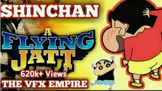 Shin Chan as A Flying Jatt | A Flying Jatt Spoof in Shinchan Style | THE VFX EMPIRE