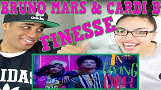 Bruno Mars - Finesse (Remix) [Feat. Cardi B] [Official Video] REACTION