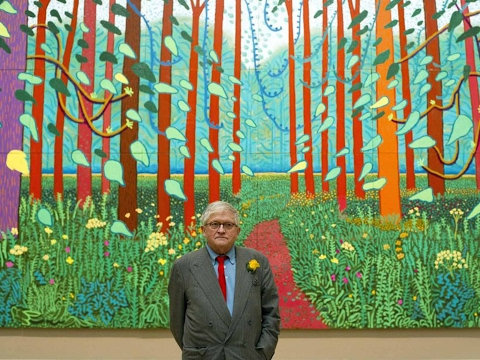 David Hockney interview (2001)