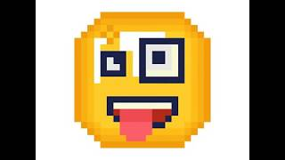 Pixel Art - Silly Emoji