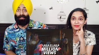 Indian Reaction on Laila O Laila - Ali Zafar ft Urooj Fatima | Lightingale Productions | PR TV