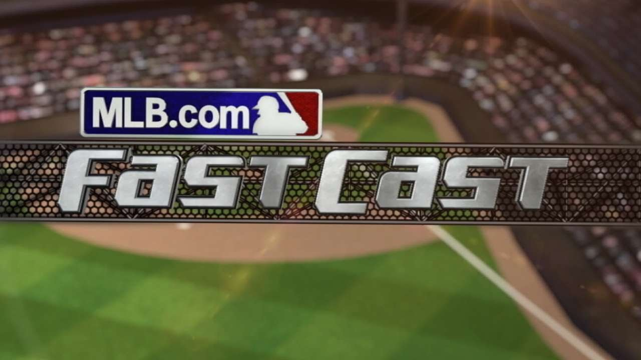 6/29/15 MLB.com FastCast: Trout does it all