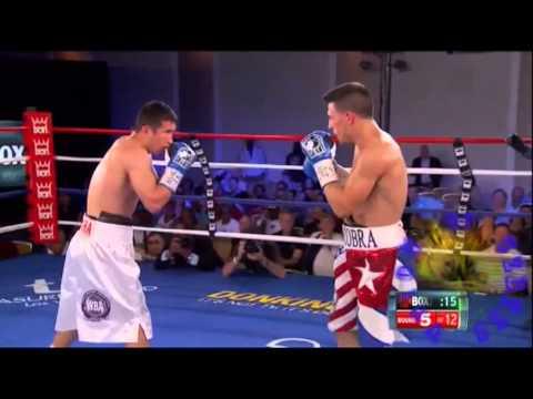 Узбек уложил чемпиона мира: Angelo Santana vs Bahodir Mamadjonov  Сантана - Баходир