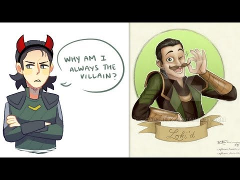 30+ Hilariously Funny THOR & LOKI Comics To Make You Laugh
