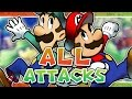 Mario and Luigi: Superstar Saga - All Attacks - KoopaKungFu