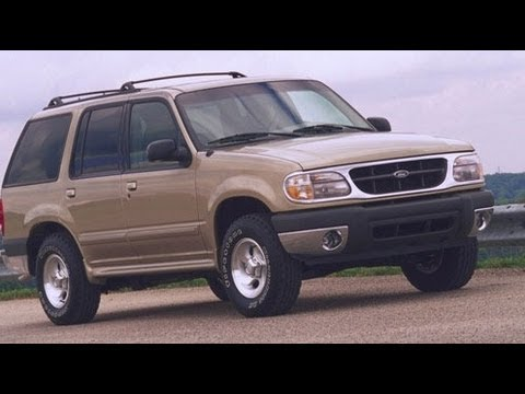 2001 Ford Explorer Eddie Bauer Start Up and Review 4.0 L V6