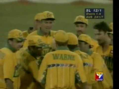 SRI LANKA Cricket - 1996 World Cup Final [Golden minutes of '96 Wills