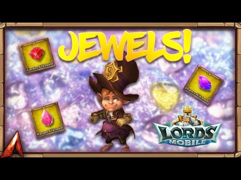 LEGENDARY Jewel Chests! Lords Mobile!