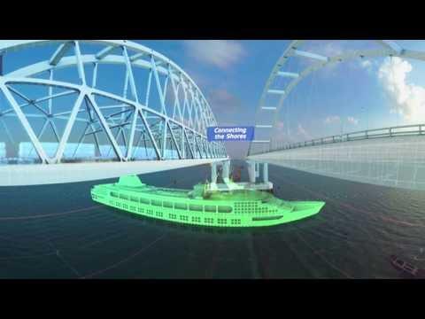Мост в Крым. Последние новости. Видео 360