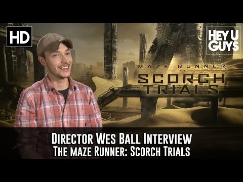 Wes Ball Interview - The Maze Runner: Scorch Trials
