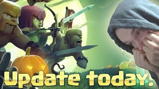 HALLOWEEN UPDATE!! || CLASH OF CLANS || Let