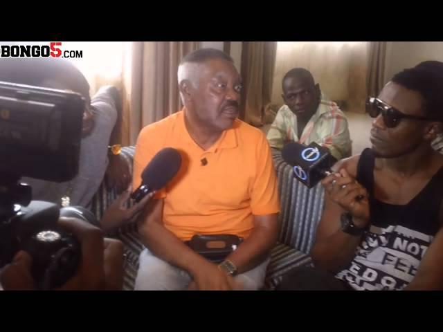 Mzee Njenje azungumza na wasanii ili kuboresha muziki wao