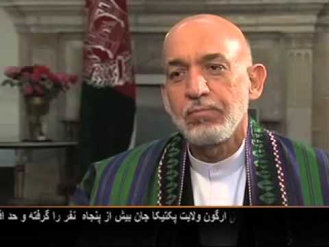 Exclusive interview with President Karzai