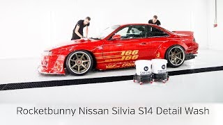 Rocket Bunny Nissan Silvia S14a Detail Wash plus Coating Application