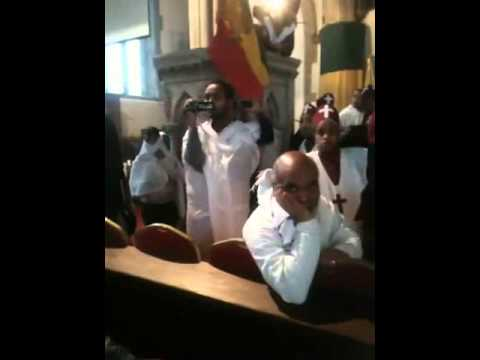 Debre Tsion london church fighting