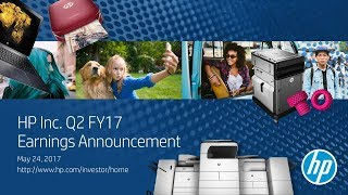 Q3 2017 HP Inc. Earnings Conference Call
