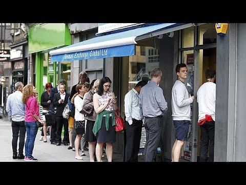 Brexit : les bureaux de change pris d'assaut - economy