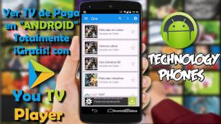 [[APP]] [[Ver TV de PAGA]] [[TOTALMENTE GRATIS]] en [[ANDROID]] con [[YOU TV  PLAYER]]