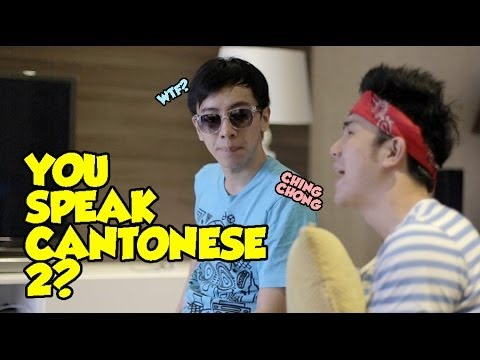 You Speak Cantonese 2?