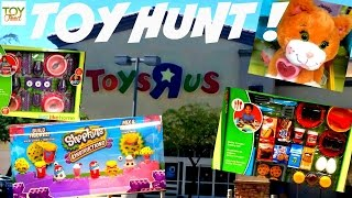 TOY FOOD SHOPPING AT TOYS R US: JUST LIKE HOME PLAY SETS, SHOPKINS, CABBAGE PATCH KIDS, & MORE