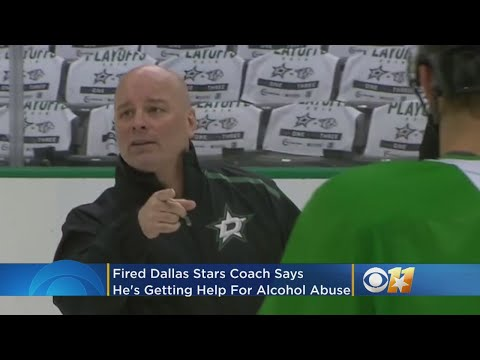Fired Dallas Stars Coach Jim Montgomery Says He's Getting Help For Alcohol Abuse