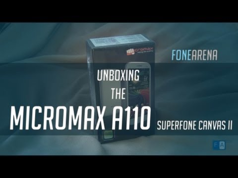 Micromax A110 Superfone Canvas 2 unboxing