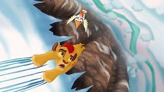 Lion Guard: Hafifu and Majinuni save Kion! | The Lost Gorillas HD Clip