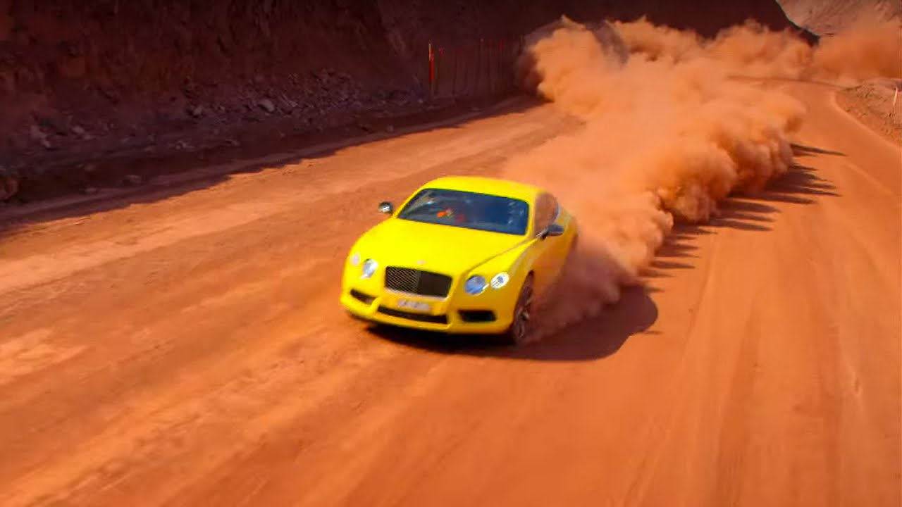 Mine Racing with The Stig's Australian Cousin - Top Gear - Series 22 - BBC