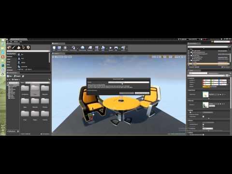 Урок Unreal Engine 4 - Интерфейс