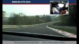 BMW M3 GTR on Nürburgring